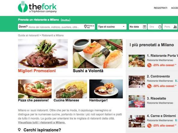 I ristoranti di TheFork ora prenotabili sulle Mappe di Apple