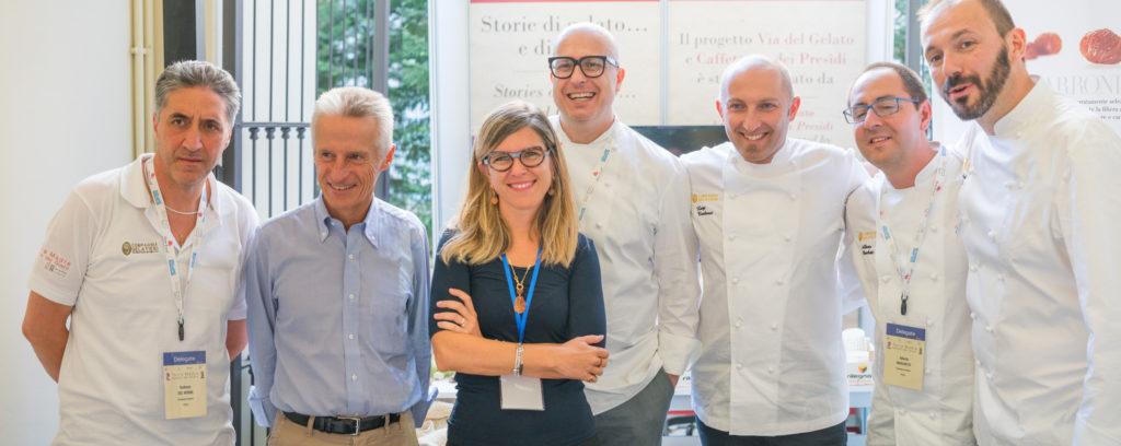 """I grandi Maestri gelatieri il 20 ottobre su Costa Favolosa per il meeting """"Artisti del gelato"""""""