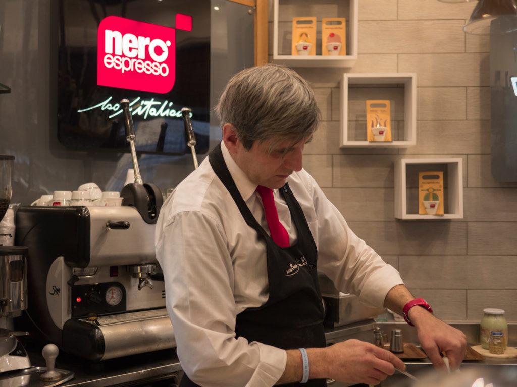 NeroSpecialCoffee, un progetto artistico all'aroma di caffè