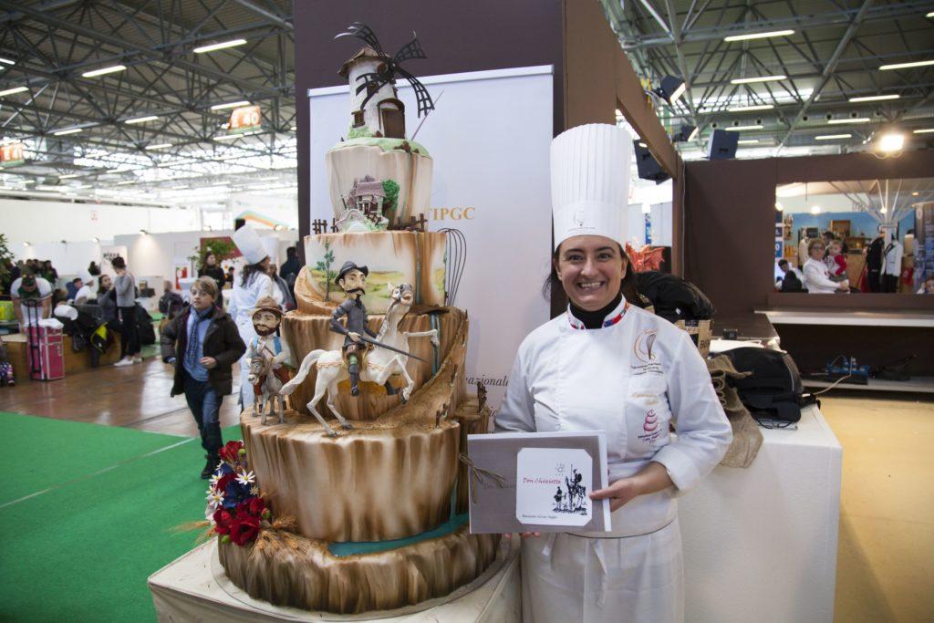 Archistar dei dolci, Manuela Taddeo vince il campionato di cake design